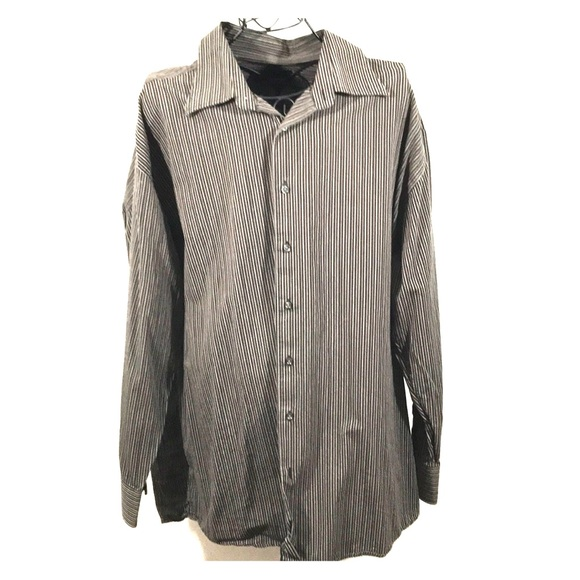 255f1aa0 Greg Norman Collection Shirts | Greg Norman Striped Casualwork ...